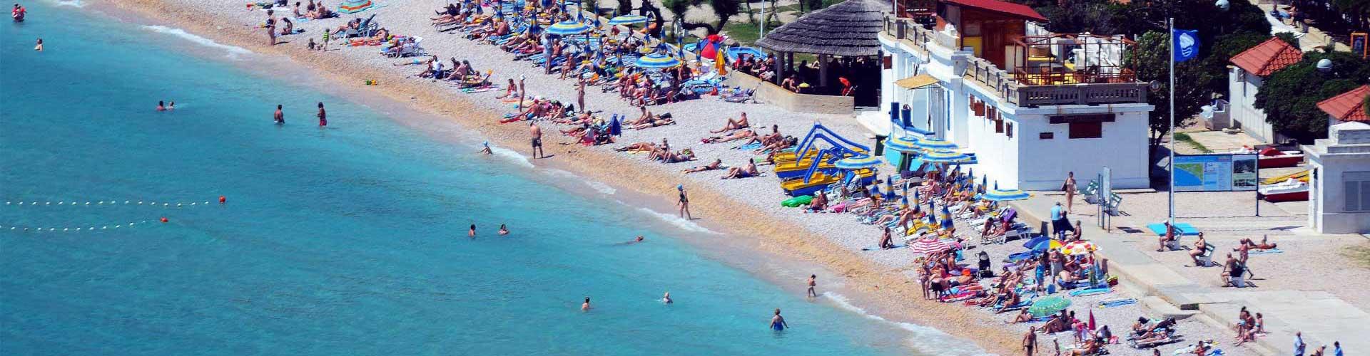 Písečná pláž přímo v centru
